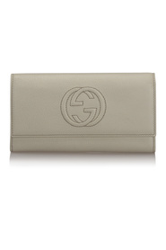 Pre-owned Soho Continental Leather Wallet