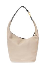Handbag with logo