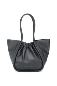L RUCHED TOTE