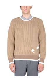 SWEATSHIRT WITH EMBROIDERED BEAR