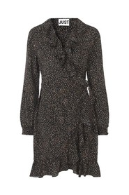 Imogene Wrap Dress Kjole