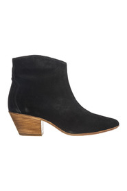 women's leather heel ankle boots booties new dickers