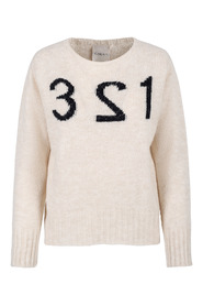 Offwhite Carla F Numbers genser