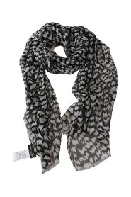 Patterned Print Wrap Shawl Scarf
