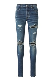 Skinny Fit MX1 Suede Jeans