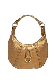 Pre-owned Grained Leather Hobo