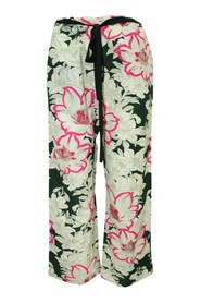 Loose Fitting Floral Pants -Pre Owned Condition Very Good IT36