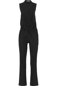 Studio Anneloes mouwloze jumpsuit model ANGELOU kleur Black