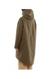 WATER REPELLENT HOODED PARKA