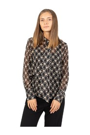 Knot patterned shirt