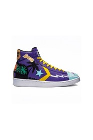 x  Pro Leather Hi Sneakers