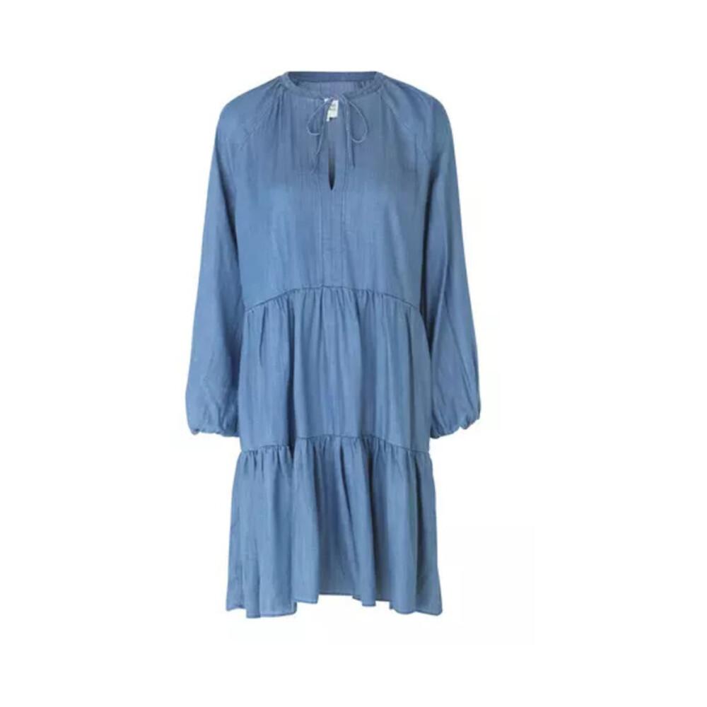 Blue Kjole Middels  Second Female  Hverdagskjoler - Dameklær er billig