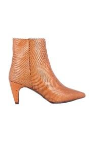 Roberto d'Angelo schoenen enkellaarzen Cognac