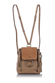 Mini Faye Leather Backpack