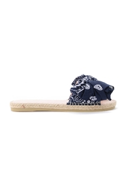 Bandana slipper with bow