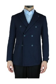 DOUBLE-BREASTED JACKET WITH THREAD POCKETS 2
