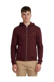 KYLE COTTON ZIP THROUGH HOODIE