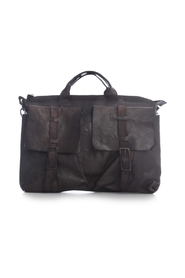 WORK BAG HORSE LEATHER DOUBLE LACE