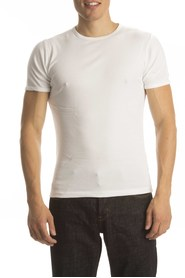 Petrol T-Shirt Basic Round Neck White ( 4p)