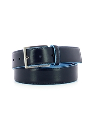 35 mm belt in Bue Square leather