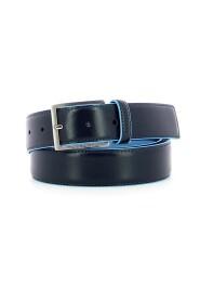 Cintura 35 mm in pelle Bue Square