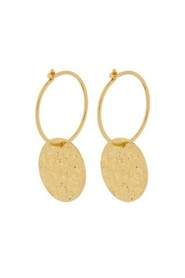New Moon Earrings Gold Plated,