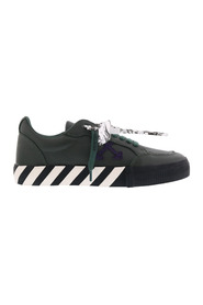 Low Vulcanized Calf Leather Sneakers