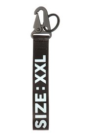 Key ring with a decorative strap