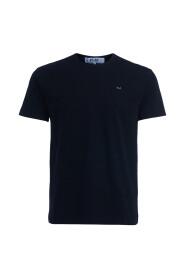 T-shirt Comme des Garçons PLAY nera cuore nero