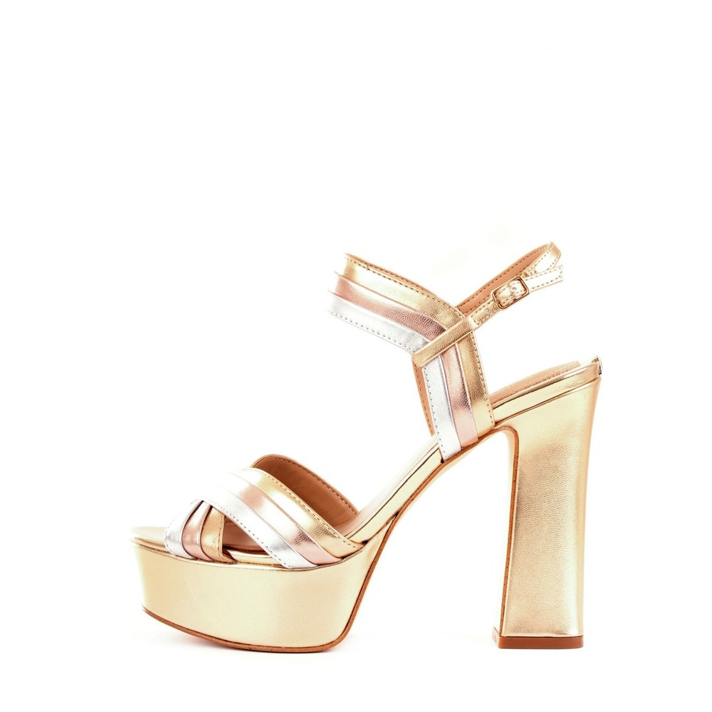 GUESS FL6IA2LEL03 Sandal Women GOLD