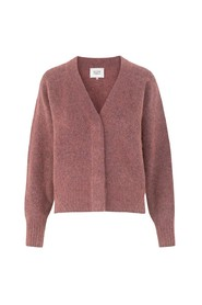 Brook Knit Boxy Cardigan Desert Sand