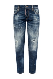 Jennifer Jean raw edge jeans