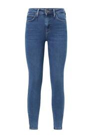 Denim Scarlett High Zip Jeans