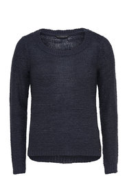 Solid Knitted Pullover