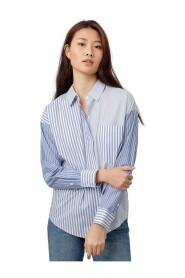 Arlo Shirt Mixed Sea Stripe