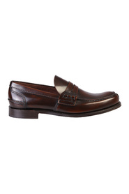Tunbridge borstat läder loafers