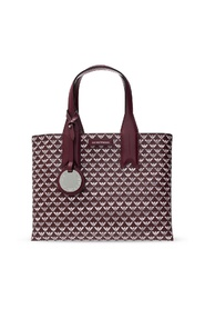 Patterned hand bag