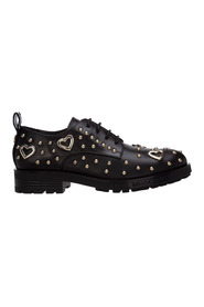 women's classic leather lace up laced formal shoes