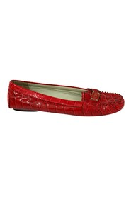 Croc Embossed Patent Leather Loafer