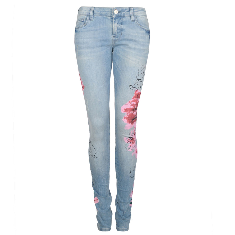 Guess Jeansy Skinny Floral