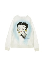 FELPA GIROCOLLO BETTY BOOP AIR BRUSH