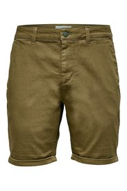 Chino shorts Solid color