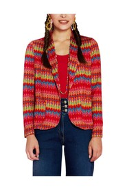 Marthe graphic pattern knit jacket