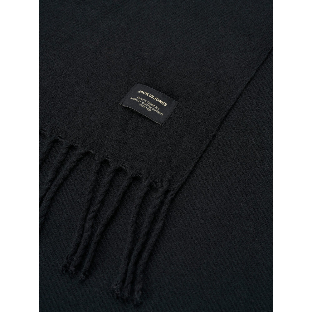 Black Sjaal Geweven | Jack  Jones | Sjaals | Heren accessoires
