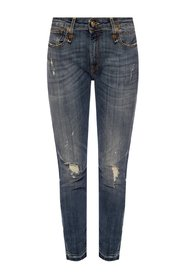 Raw-Trimmet Jeans