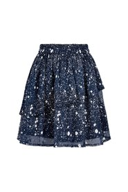 Creamie - Skirt Spray Print (821084) - Total Eclipse