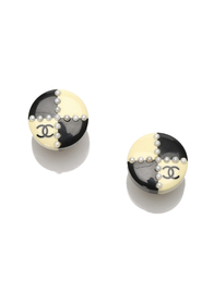 CC Clip On Earrings