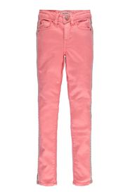 Korallrosa jeans