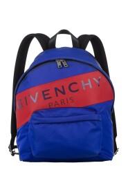 Logo Stripe Nylon Backpack