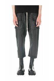 DRKSHDW Drop-Crotch Cropped Trousers